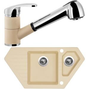 SINKS Set Bravo 850.1 + Legenda S , sahara
