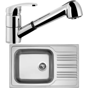 SINKS Set Star 780 XXL + Legenda S, chróm