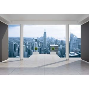 Fototapeta, Tapeta New York City Skyline 3D Pentho