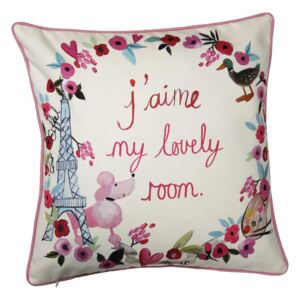 Arthouse Dekoratívny vankúšik - Paris with Love Cushion
