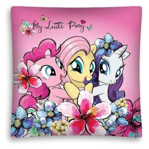 DETEXPOL Povlak na vankúšik My Little Pony Friendship Polyester 40/40 cm