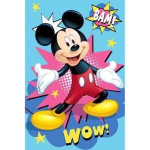 JERRY FABRICS Fleece deka Mickey Bam Polyester 100/150 cm
