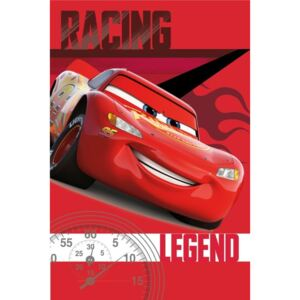 JERRY FABRICS Fleece deka Cars legend Polyester 100/150 cm
