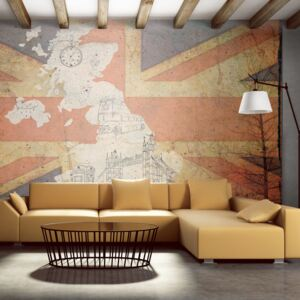 Fototapeta Bimago - Postcard from Great Britain + lepidlo zadarmo 450x270 cm