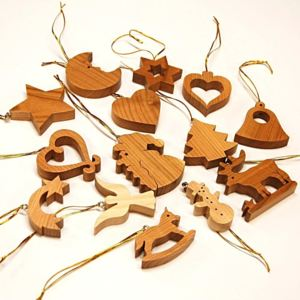 Christmas Collection 14pcs Set Cherry Wood