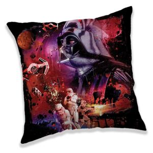 JERRY FABRICS Vankúšik Star Wars 82 dark power Polyester 40/40 cm