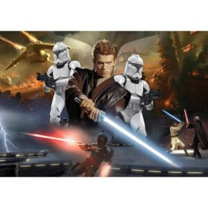 C1691P8 Fototapeta: Star Wars Attack of the Clones (2) - 254x368 cm