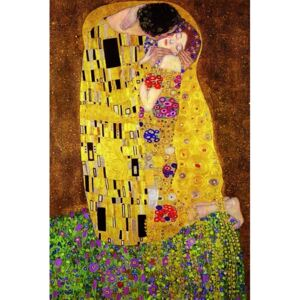 Plagát - Klimt's The Kiss