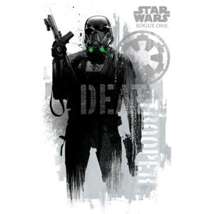 Plagát - Star Wars Rogue One (Death Trooper)