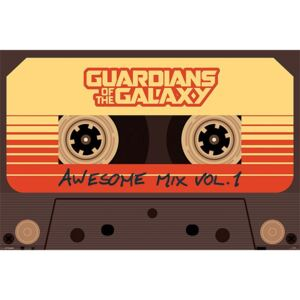 Plagát - Guardians of the Galaxy (Awesome Mix Vol.1)