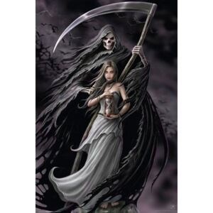 Plagát - Anne Stokes Summoning the reaper