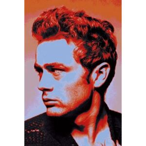 Plagát - James Dean popartom