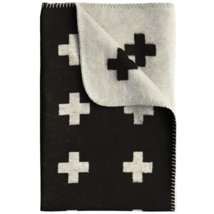 Deka Cross Blanket Black 160x240