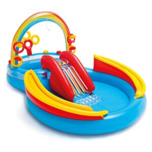Intex Nafukovací bazén Rainbow Ring Play Center 297x193 x135cm 57453NP