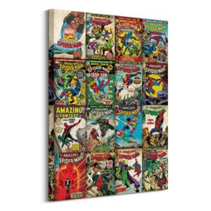 Obraz na plátne Marvel Spider Man Covers 60x80cm WDC99219