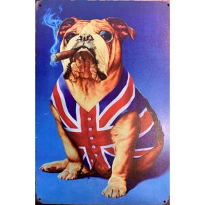 Ceduľa Dog UK