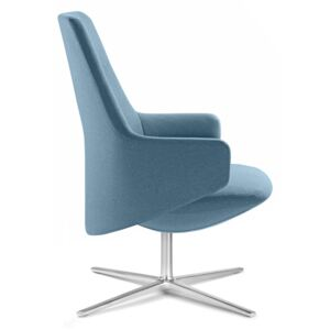 LD SEATING - Kreslo MELODY LOUNGE L s houpací mechanikou