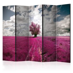 Paraván - Magenta meadow [Room Dividers] 225x172