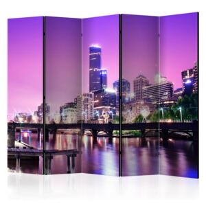Paraván - Purple Melbourne II [Room Dividers] 225x172