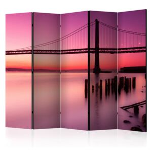 Paraván - Purple Evening II [Room Dividers] 225x172