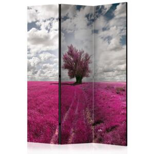 Paraván - Magenta meadow [Room Dividers] 135x172