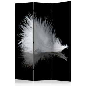 Paraván - White feather [Room Dividers] 135x172