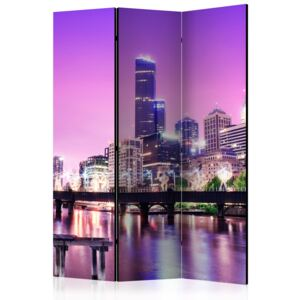 Paraván - Purple Melbourne [Room Dividers] 135x172