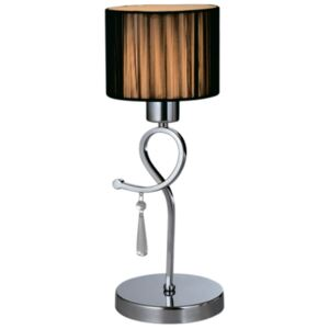 LILLY STOLNÁ LAMPA 1XE27 D150X410mm CHRÓM (955LILLY1T)