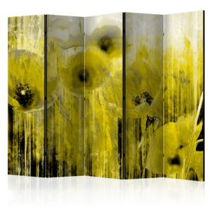 Paraván - Yellow madness [Room Dividers] 225x172