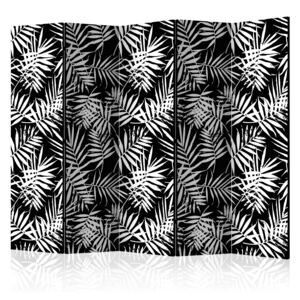 Paraván - Black and White Jungle [Room Dividers] 225x172