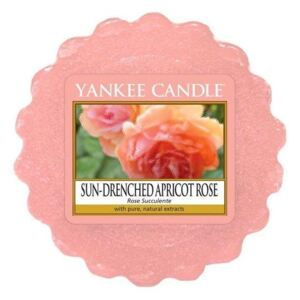 Vosk do aromalampy Yankee Candle - Sun-Drenched Apricot Rose (kód JAR2021 na -20 %)
