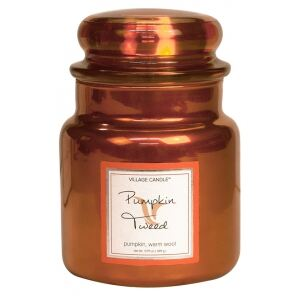 VILLAGE CANDLE - Hrejivá tekvica- Pumpkin Tweed-85-105