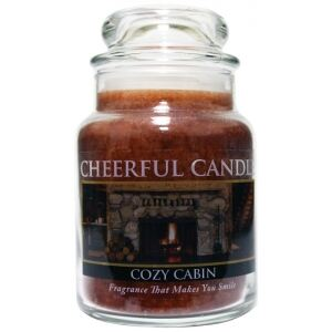 CHEERFUL CANDLE - Horská chata - COZY CABIN 170g