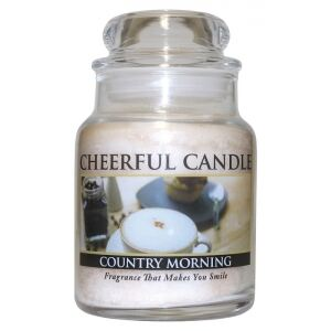 CHEERFUL CANDLE - Ráno na dedine - COUNTRY MORNING 170g