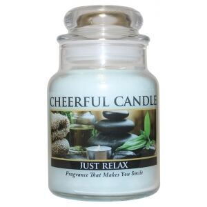 CHEERFUL CANDLE - Relax - JUST RELAX 170g