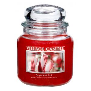 VILLAGE CANDLE - Mätová lízanka - Peppermint Stick 85-105