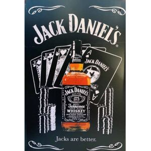 Ceduľa Jack Daniels - Jacks are better