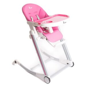 BO JUNGLE Jedálenská stolička B-HIGH CHAIR Pink