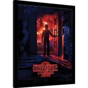 Rámovaný Obraz - Stranger Things - Doorway