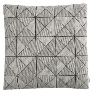 Muuto Vankúš Tile Cushion, Black / White 50x50