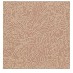Ferm Living Tapeta Coral, dusty rose/beige