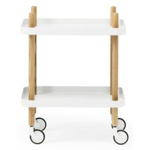 Normann Copenhagen Servírovací stolík Block Table, white