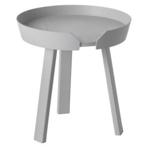Muuto Stolík Around Coffee S, light grey