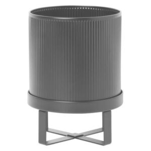 Ferm Living Kvetináč Bau Pot Small, black