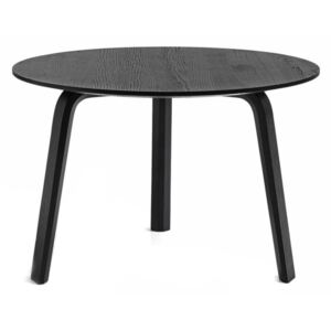 HAY Stolík Bella Coffee Table Ø60x39, black