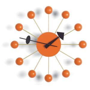 Vitra Hodiny Ball Clock, orange