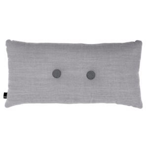 HAY Vankúš Cushion 2 Dots Surface Light Grey