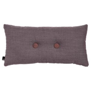 HAY Vankúš Cushion 2 Dots Surface Greyish Burgundy