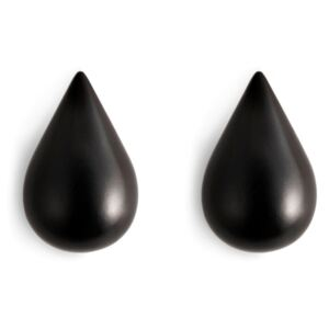 Normann Copenhagen Vešiaky Dropit Small, black
