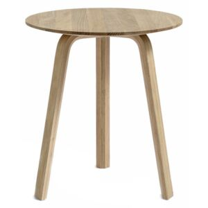 HAY Stolík Bella Coffee Table Ø45x49, lacquered oak